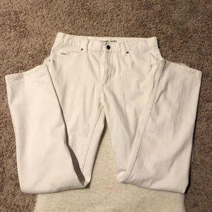 Michael Kors Men's White Pants Waist 32